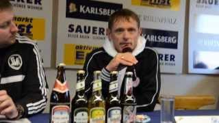 Pressekonferenz SVN Zweibrücken - KSV Hessen Kassel