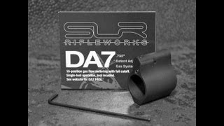 SLR Rifleworks DA7 Adjustable Gas Block