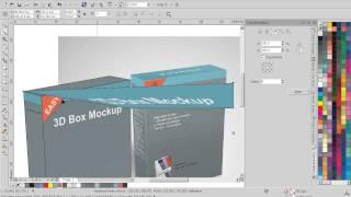 Create 3d Box Mockup
