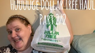 Huuuuuuge Dollar Tree Haul Part 2/2 October 12, 2019