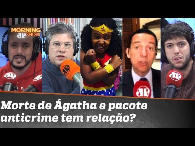 O assassinato da pequena Ágatha e o pacote anticrime de Sergio Moro