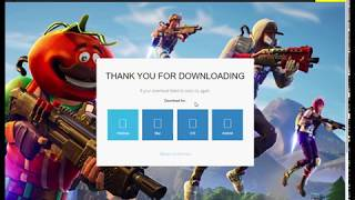 How to download fortnite for PC by Mr. foe