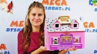 Melissa and Doug • Stajnia & Domek dla lalek & Zamek księcia • Unboxing