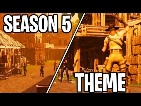 SEASON 5 THEME *EXPLAINED* In FORTNITE - WHAT WILL The SEASON 5 THEME BE In FORTNITE BATTLE ROYALE?!