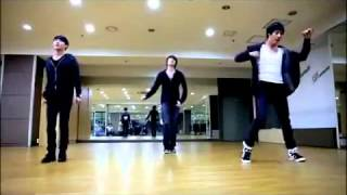 MISSION  - JYJ (Junsu -- Yoo Chun -- Jae Joong ) (Dance rehearsal)