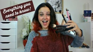 LIVE CHAT - All About Makeup Brushes - Let