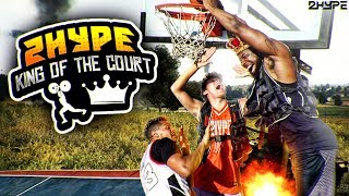2HYPE King Of The Court! 30lb Body Weights Basketball Challenge! Ep. 3