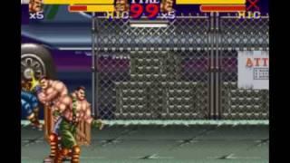 【t124A】FINAL FIGHT 2 TAS take2 1/2