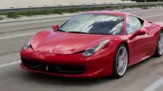 Ferrari 458 Italia Cars Music Video in Miami Florida