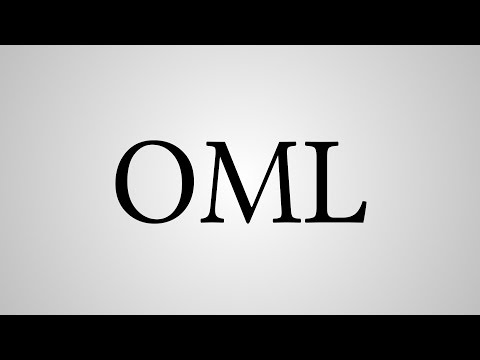 """What Does """"OML"""" Stand For?"""