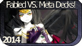 YUGiOH! 2014 - Fabled VS Meta Decks