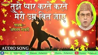 तुझे प्यार करते करते मेरी उम्र बीत जाये || Romantic Ghazal || Aslam Sabri