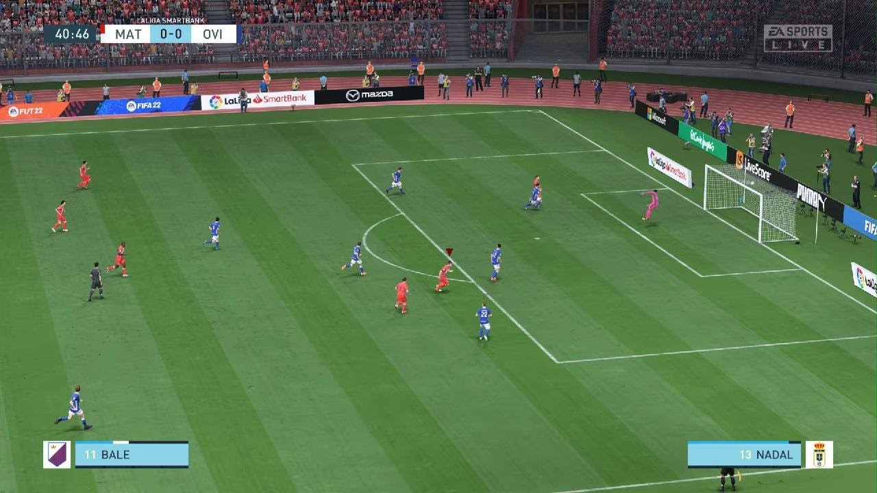 Download Gareth Bale MAT Tetouan Amazing curve goal against Real Oviedo FIFA 22