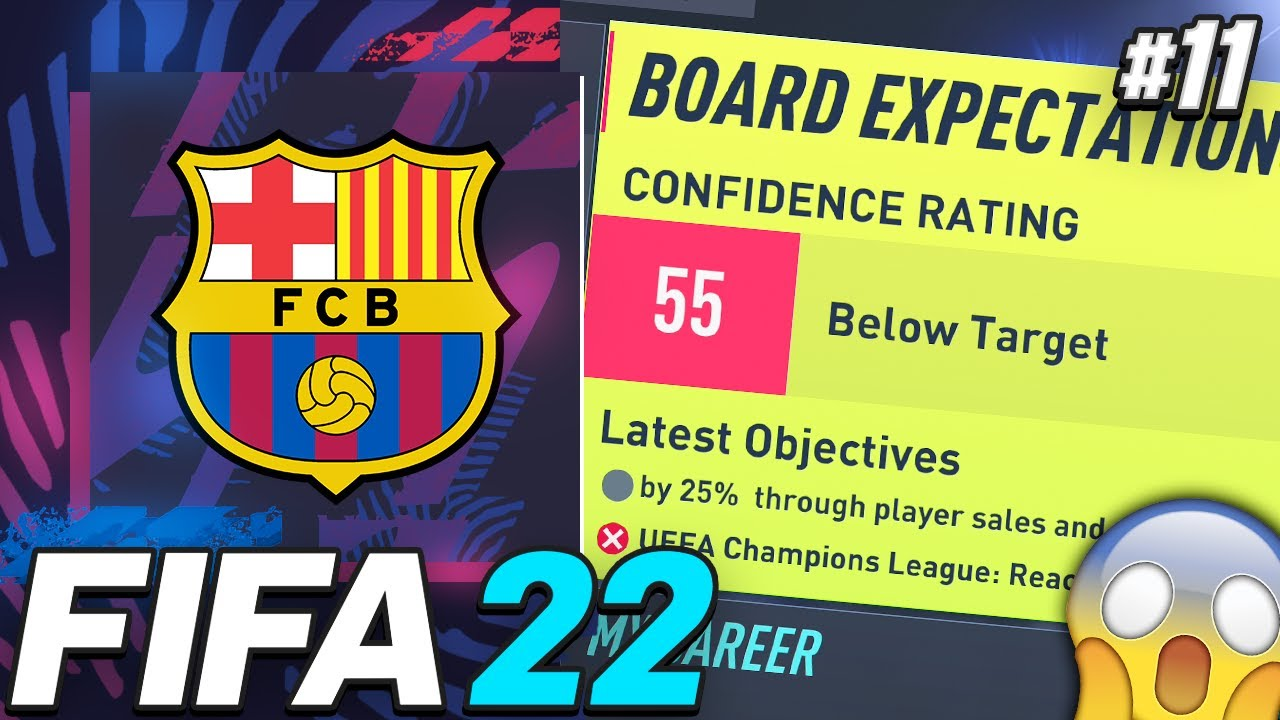 Download SEASON FINALE!!! WE COULD GET SACKED!!😱 - FIFA 22 Barcelona Career Mode EP11