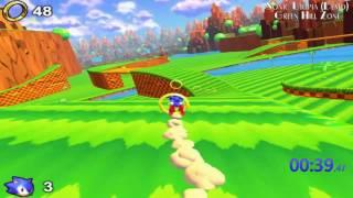 Sonic Utopia Demo: Green Hill Zone (1:10.40) Speedrun