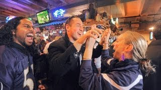 Ravens Win.  Everyone Goes Nuts.