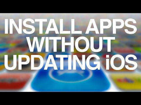How to install apps without updating iOS  iPad 1 iPhone 4 iPhone 3GS iPhone 3G iPod touch