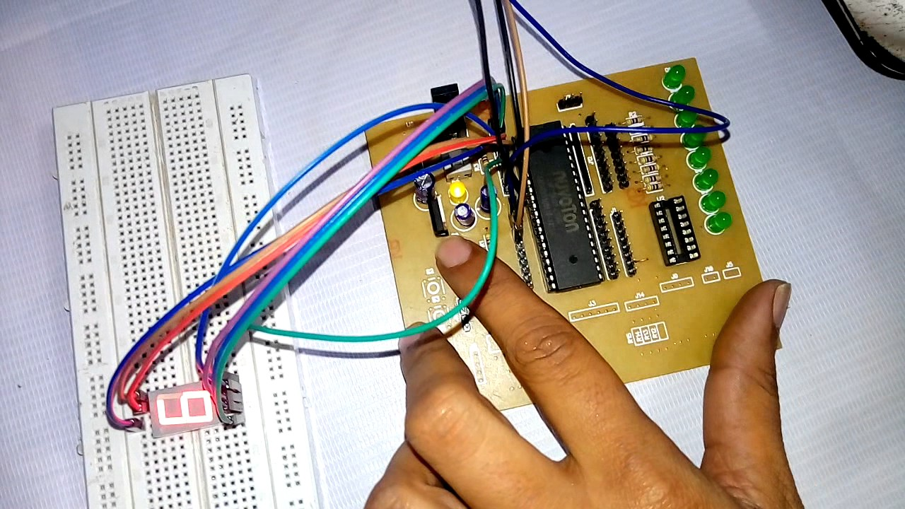How To Burn Program On Microcontroller 8051 In Hindi Youtube Software Provides An Environment Test Our