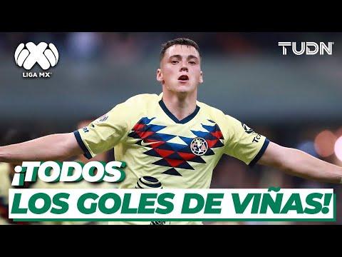 ¡Maraviñas! TODOS los goles de Federico Viñas con el América I TUDN