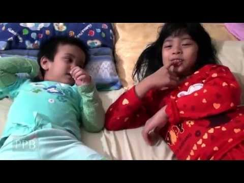 Mean parents / Prank the kid - kid think his private body parts have been eaten
