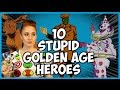 10 Stupid Golden Age Heroes (Comics)