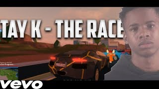 TAY K THE RACE (Official roblox music video)