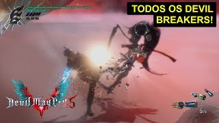 Todos os Devil Breakers - Devil May Cry 5