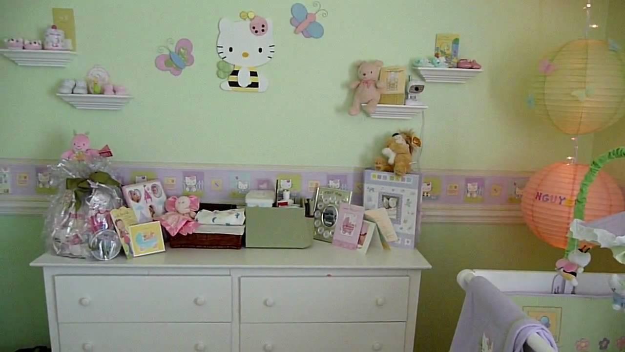 Hello Kitty Nursery Room Bees Erflies