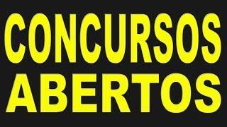 PCI Concursos Editais abertos e previstos-Vagas www.pciconcursos.com.br