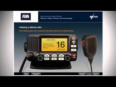 RYA Marine Radio Short Range Certificate Course   VHF Radio Licence