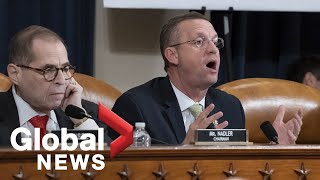 House Judiciary Committee continues debate over Trump impeachment | LIVE