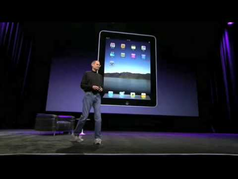 The iPad Introduction - Apple Keynote 27/1/10