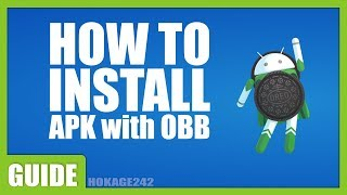 [Tutorial] Install Mod Apk With OBB Data