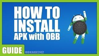 [Tutorial] Install Mod Apk With OBB Data