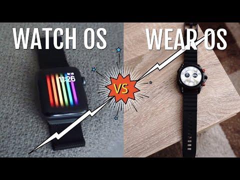 Apple Watch OS vs. Google Wear OS - Welches System ist besser?
