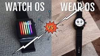 Apple Watch OS vs. Google Wear…