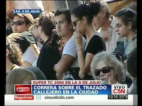 C5N - SOCIEDAD Y DEPORTES: EL TC2000 EN LAS CALLES DE BUENOS AIRES