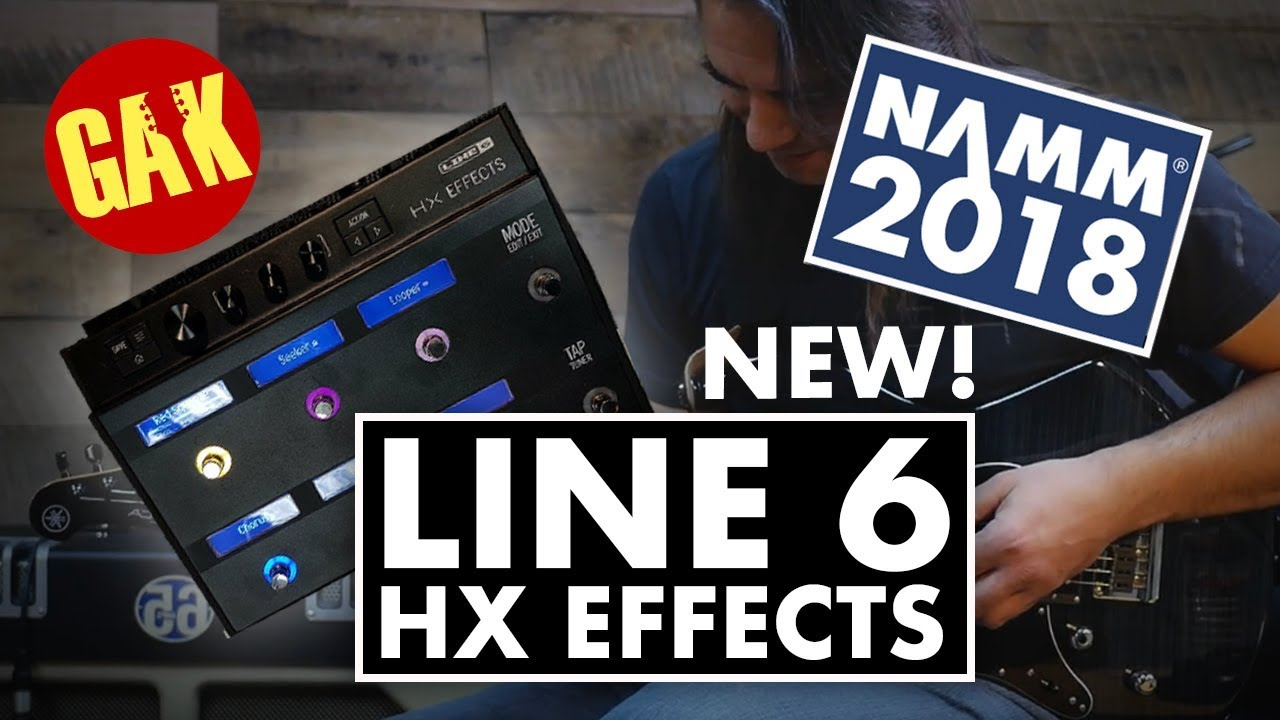 Line 6 HX Effects Helix Multi FX Processor Pedal