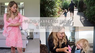VLOG: Farfetch Haul, Zoo Trip & Pizza Making! | Fleur De Force