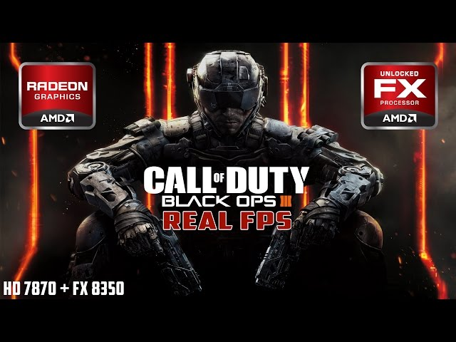 Call of Duty: Black Ops 3 - Multiplayer | FX 8350 - HD 7870 | High-Extra 1080p [REAL FPS]