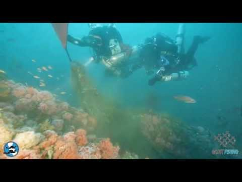 """Los Angeles Underwater Explorers: Cleanup the Caissons and the """"African Queen"""""""