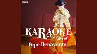 El Polvorete (Karaoke Version)