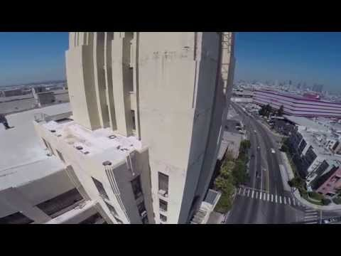 Sears Building Los Angeles ( Boyle Heights ) California Dronfly Erick Molinar