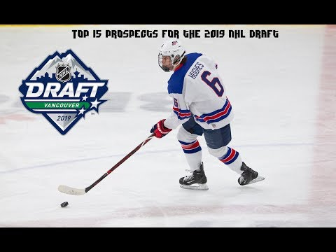 Top 15 Prospect for the 2019 NHL Draft