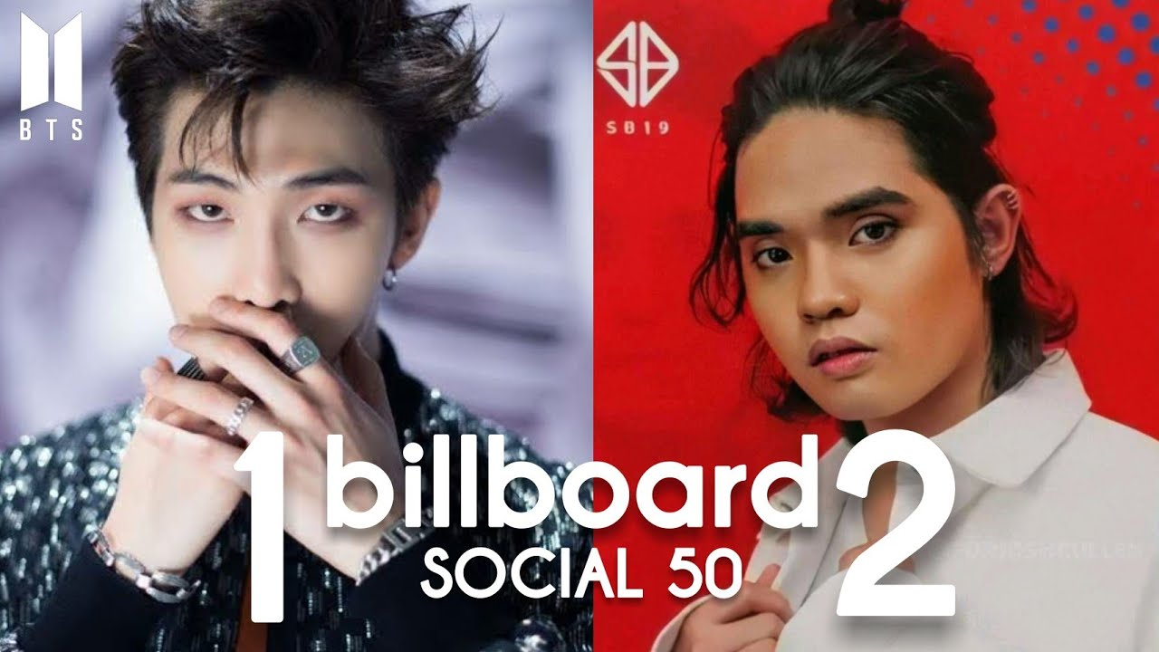 SB19 AT NO. 2 NEXT TO BTS🎉|Billboard Social 50| TOP 10 |August 16, 2020 Updates!!