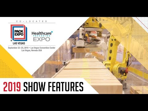 PACK EXPO Las Vegas 2019 - Check Out the New Features | PACK EXPO Las Vegas