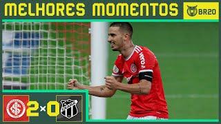 INTERNACIONAL 2X0 CEARÁ - Melhores Momentos - Brasileirão 2020 (10/09)