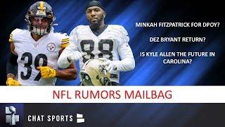 Dez Bryant To Saints? Minkah Fitzpatrick For DPOTY? Kyle Allen? 2020 NFL Draft? | NFL Mailbag