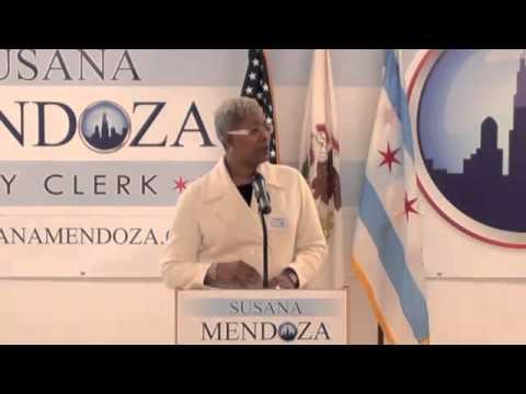 Susana Mendoza for Chicago City  Clerk.flv