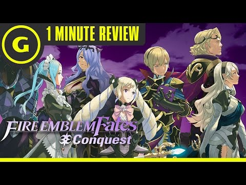 Fire Emblem Fates: Conquest - 1 Minute Review